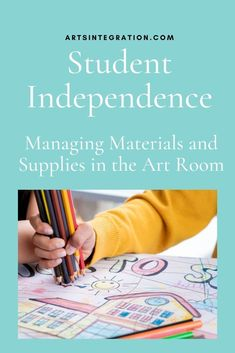 Stumped on fostering student independence? Managing materials and supplies in an elementary school art room can be difficult so check out these 6 ideas! #studentindependence Middle School Classroom, Music Classroom, Art School, Writing Lesson Plans, Writing Lessons, Instructional Strategies, Marketing Jobs, Student Learning, Classroom Management