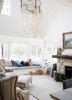 Star style: Tara Dennis's beautiful riverside home - Homes, Bathroom, Kitchen & Outdoor | Home Beautiful Magazine Australia