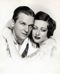 Douglas Fairbanks Jr. and Joan Crawford