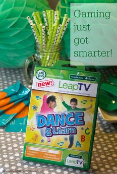 Learning just got smarter (and more active!) with the new LeapTV game system from LeapFrog. #mommyparties ad
