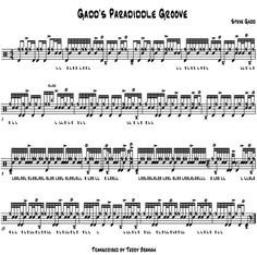 Drummerworld: Steve Gadd Free Drum Lesson From Top Pro's Across The World Click Now Drum Sheet Music, Drums Sheet, Drum Lessons, Music Lessons, Learn Guitar Beginner, Drum Rudiments, Drum Notes, Steve Gadd, Drums Electric