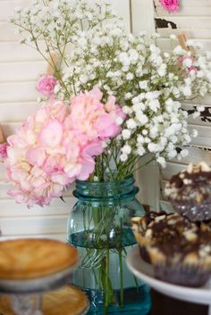 Shabby Chic Baby Shower Party Ideas | Photo 36 of 39