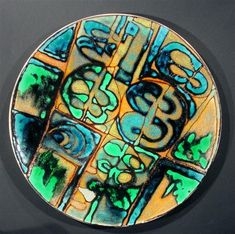 A late studio/early Delphis period plate c.1966.