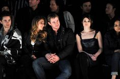 Pin for Later: All the Times Chris Hemsworth Was a Girl's Best Accessory When She Was at a Fashion Show Elsa Pataky and Chris took in the G-Star Raw Fall '11 collection alongside Jared Leto, who isn't a bad accoutrement either.