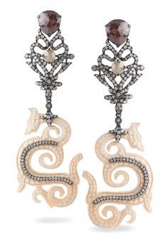 #Bochic #Orient Earrings