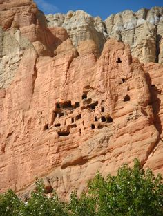Mustang Cave in Nepal