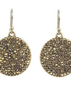 Lucky Brand Gold Pave Disk Earring #accessories  #jewelry  #earrings  https://www.heeyy.com/suggests/lucky-brand-gold-pave-disk-earring-gold/