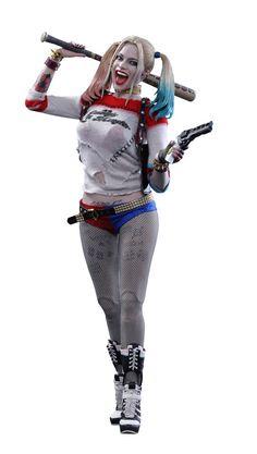 Suicide Squad Movie Masterpiece Actionfigur 1/6 Harley Quinn 29 cm