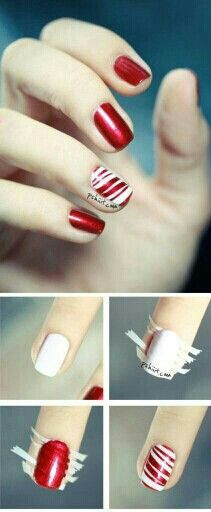 You could also go over the red with a white tip nail pen or sharpie. G;)
