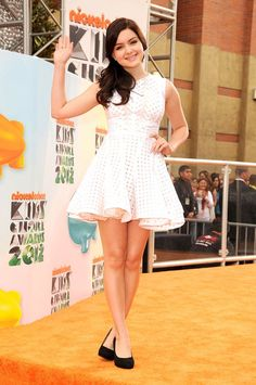 Ariel Winter at the 2012 Nickelodeon Kids' Choice Awards in Los Angeles, California.