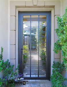 Artistic Iron Works - Las Vegas, NV, United States. Wrought Iron Entryway Door - EW0487