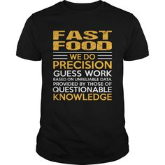 FAST FOOD T-Shirts, Hoodies. BUY IT NOW ==► Funny Tee Shirts