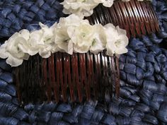 This Time Around: DIY: Floral Hair Combs