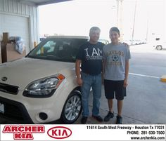 Congratulations to Jose Mireles on the 2013 Kia Soul