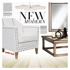 """""""New Modern"""" by pokadoll ❤ liked on Polyvore featuring interior, interiors, interior design, home, home decor, interior decorating, Uttermost, Possini Euro Design and modern"""