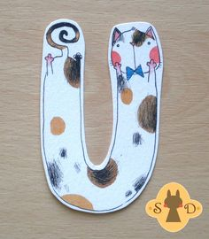 Bookmark with a happy white cat in a bow tie - hand painted, two-sided… Bookmark Craft, Diy Bookmarks, Watercolor Bookmarks, Watercolor Cat, Anatomy Art, Book Making, Crazy Cats, Doodle Art, Cat Art