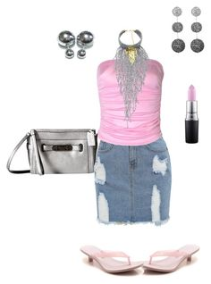 """""""Untitled #1832"""" by yvettestarr on Polyvore featuring MAC Cosmetics, Suzanna Dai and Coach"""