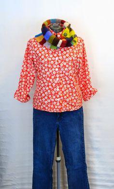 Odacier, Ellen Mason Design: A Stitcher's Wardrobe: Suncook Scarf Outfit and Pattern