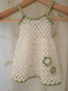 Crochet dress so cute