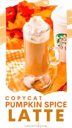 Copycat Starbucks Pumpkin Spice Latte Recipe, Pumpkin Spiced Latte Recipe, Pumpkin Spice Coffee, Pumpkin Recipes, Fall Recipes, Holiday Recipes, Pumpkin Bread, Refreshing Drinks, Fun Drinks
