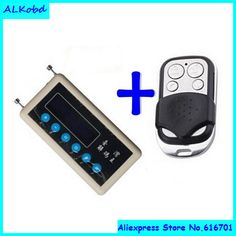 Garage Door Opener Car Key Remote Control Duplicator Clone Code Scanner 12V