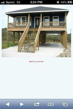 House on stilts!