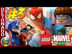 LEGO Marvel Super Heroes Parte #3 Dr Octopus Walkthrough