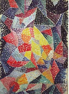 Gino Severini .....I have spent the last week living in this artists families flat in paris