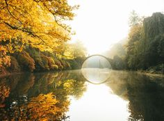 Autumn colors at Rakotzbrücke by Konsta Linkola on Rings Film, Nature Color Palette, Orange Leaf, National Geographic Photos, Season Colors, Beautiful Moments, Great Places, Kayaking, Amazing Photography