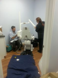 New Hygienist gear and room being setup at our Prima Vista location. Looking Good!