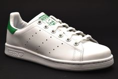 on sale c3954 f8332 ADIDAS STAN SMITH J M20605 BIANCO VERDE Donna Uomo Unisex Sneakers  Originals  Casual