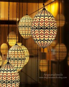 "Moroccan Lanterns Photo, Color, Modern, 8""x10"", Mediterranean decor, Chevron pattern, Red, Black, White, Wall decor, Hang in there. on Etsy, $28.00"