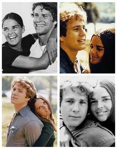 Omg its just too much. ugh the love and the snarcky-ness! Ryan O'Neal y Ali MacGraw, Love Story, 1970