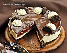 SERNIK z ciasteczkami OREO - PRZEPIS - Mała Cukierenka Oreo Cheesecake Recipes, No Bake Cake, Tiramisu, Cooking Recipes, Sweets, Candy, Baking, Ethnic Recipes, Desserts