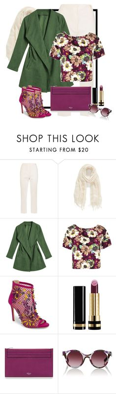 """""""Untitled #237"""" by israa-hosni ❤ liked on Polyvore featuring Dion Lee, Caslon, Boohoo, Jessica Simpson, Gucci, Mulberry and Alain Mikli"""