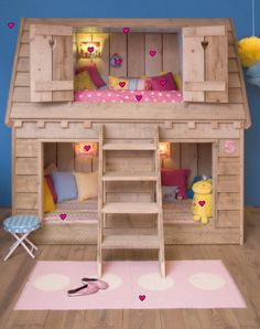 adorable idea for girls room