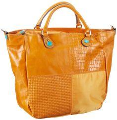 GABS CICLAMINO M MOMU, Damen Henkeltaschen 42x30x17 cm (B x H x T): Amazon.de: Schuhe & Handtaschen