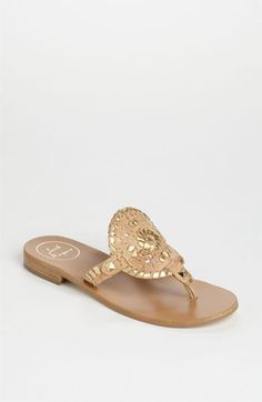 Jack Rogers 'Georgica' Sandals available at Monkees of Lexington