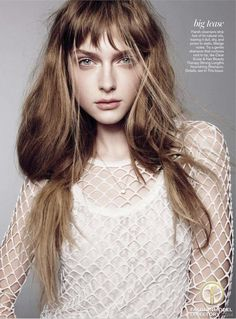 Gracie van Gastel featured in the                     Teen Vogue USA editorial