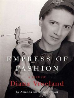 In this first full-length biography of Diana Vreeland, Amanda Mackenzie Stuart portrays a visionary: a fearless innovator who inspired designers, models, photographers, and artists.  Vreeland reinvented the way we think about style and where we go to find it. As an editor, curator, and wit, Diana Vreeland made a lasting mark and remains an icon for generations of fashion lovers..