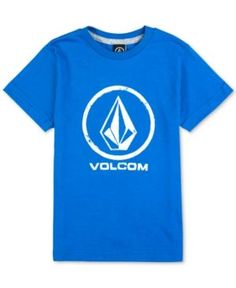 Volcom Graphic-Print Cotton T-Shirt, Toddler & Little Boys (2T-7) - Blue 2T