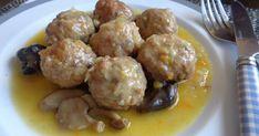 Albondigas, Keto, Chicken, Ethnic Recipes, Sierra, Food, Mushroom Gravy, Ham And Cheese, One Pot Dinners