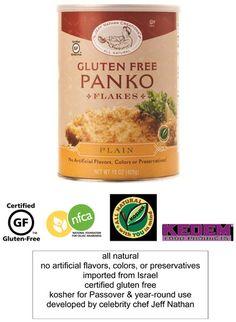 Chef Jeff Nathan - Gluten Free Panko Bread Crumbs