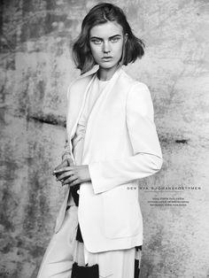 visual optimism; fashion editorials, shows, campaigns & more!: till havs: elsa brisinger by benjamin vnuk for elle sweden may 2014