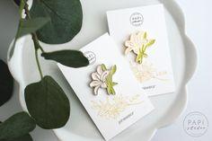 """PINSY """"Lilie"""" – moje zrealizowane marzenie ręcznie malowane emaliowane przypinki pins pin floral lilly flowers Paper Quilling Cards, Bows, Handmade, Lilies, Arches, Hand Made, Bowties, Bow, Handarbeit"""