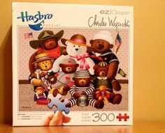 Mouse over image to zoom Have one to sell? Sell it yourself GANGS ALL HERE Teddy Bear Americana Puzzle Charles Wysocki Bears NIB SEALED