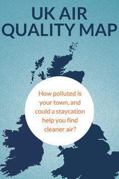 Air quality is a hot topic at the moment, and many of us are wondering how to breathe in better air. This interactive map shows major locations were people live, or go on holiday, and how the pollution is rated. Although it won't solve the source of the issue, maybe a short break to the countryside is what we all need. Popular Holiday Destinations, Uk Holidays, Short Break, Interactive Map, Going On Holiday, Staycation, Hot Topic, Countryside, Breathe