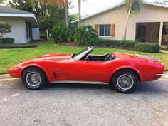1973 Corvette Convertible for sale ==US== Corvette Summer, Corvette C3, Corvette For Sale, Chevrolet Corvette, Chevy, Used Corvettes For Sale, Little Red Corvette, Corvette Convertible, Road Runner