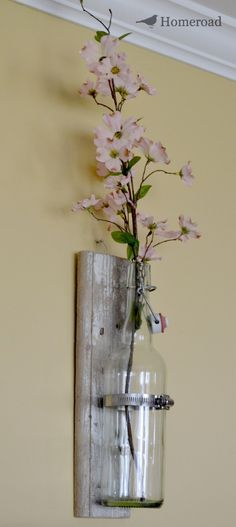 homeroad: Rustic Wall Vase
