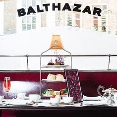 This week is your last chance to treat yourself to @matthewwilliamson's afternoon tea at @balthazarldn. Any excuse for cake a fizz! #coventgarden #coventgardeneats #balthazar #matthewwilliamson #afternoontea #cake
